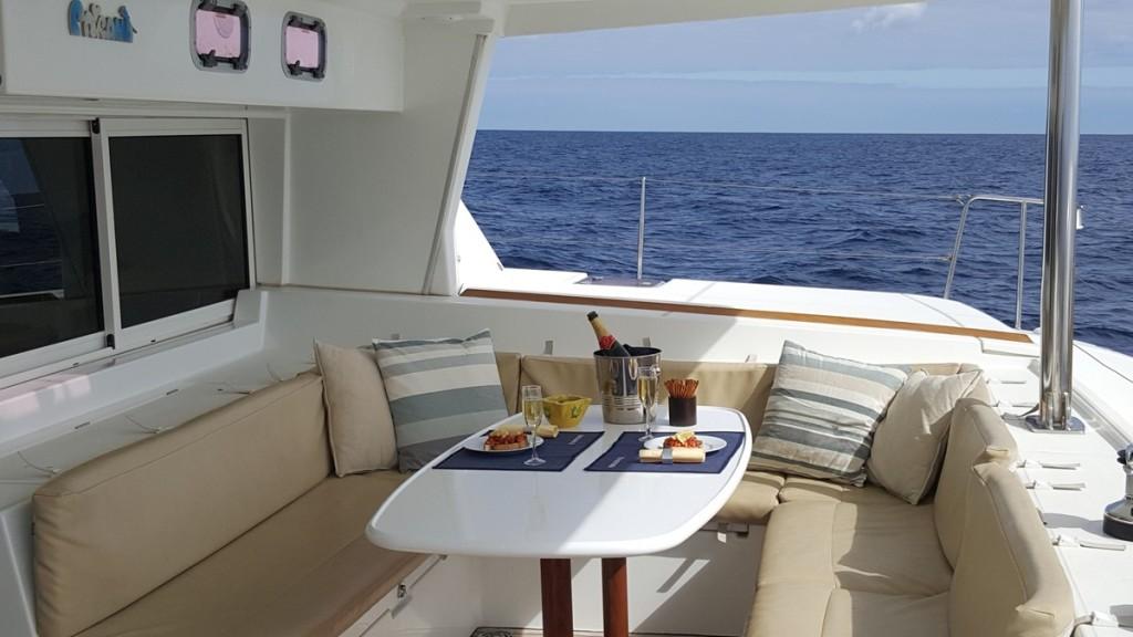 Komfort segeln Katamaran Lagoon 500