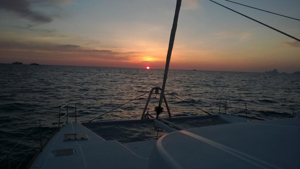 Katamaran Segeln Formentera