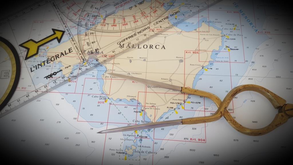 Navigation Meilentörn Mittelmeer
