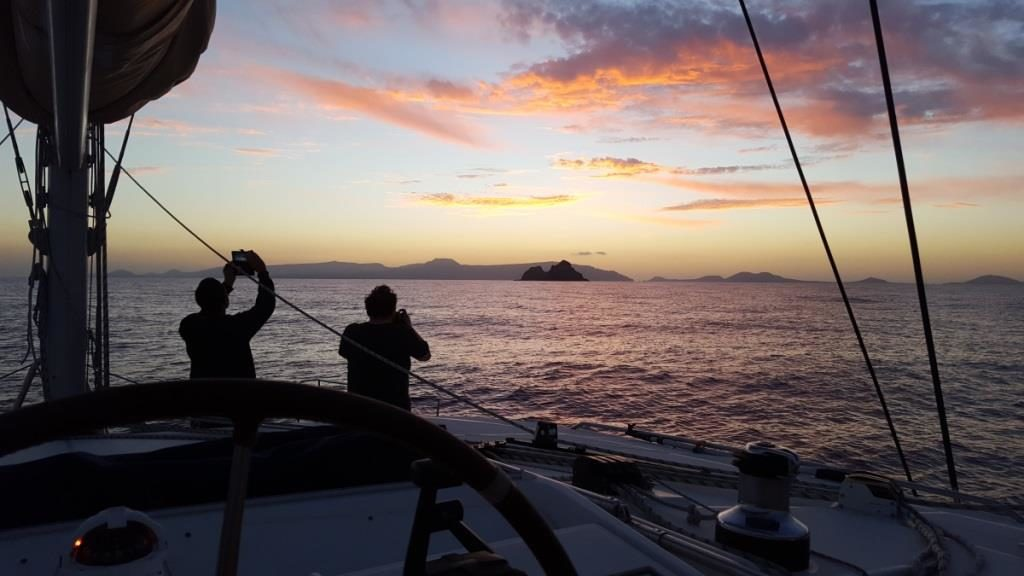 Sonnenuntergang vor Gran Canaria
