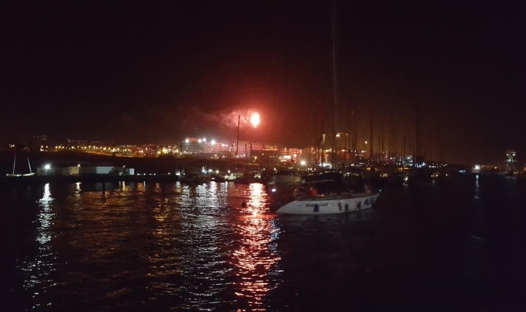 Feuerwerk Silvester in San Miguel