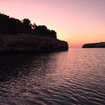 Sunset in Cala Sa Nau
