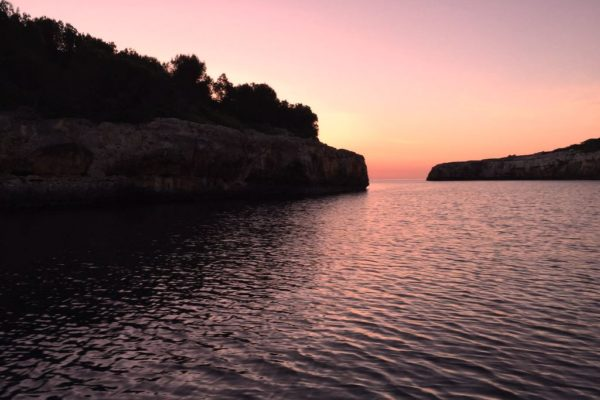 Sunset in Cala Sa Nau