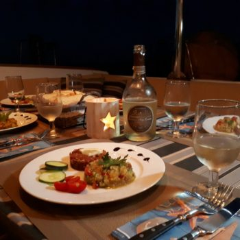 Dinner ready Parana Segundo Lagoon500
