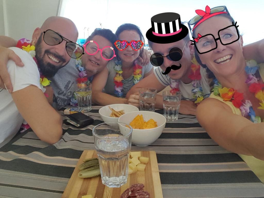 DeluxSailing Crew August Sardinien