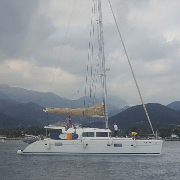 Katamaran Skippertraining