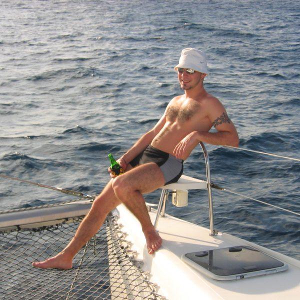 Seychellen Katamarantörn