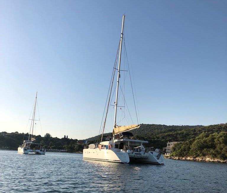 Kojencharter Korfu Katamaran Skippertraining