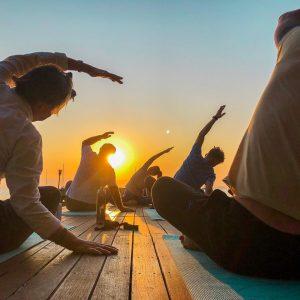 yoga-segeln und Meer 1