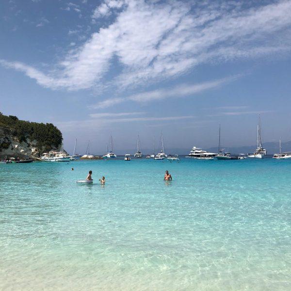 Antipaxos Vatoumi Beach