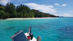 Seychellen Urlaubtörn mit Katamaran