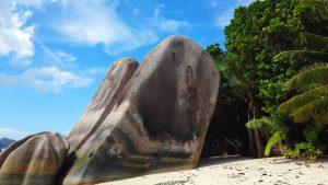 Seychellen Granitfelsen